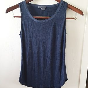 Vance   tank top with ribbon seam detail